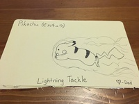 Pikachu - Lightning Tackle