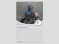Destiny 2 Soundtrack Desktop Music Player