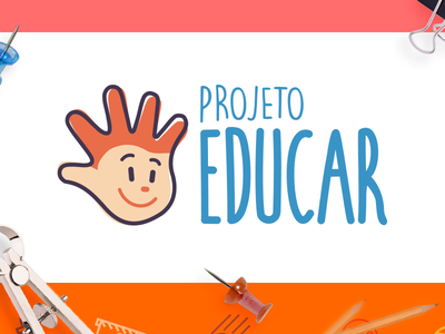 Concepção de marca - Projeto Educar (Design Culture br) dc educar brand logotipo marca
