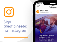 Promo Instagram - Oficina ABC