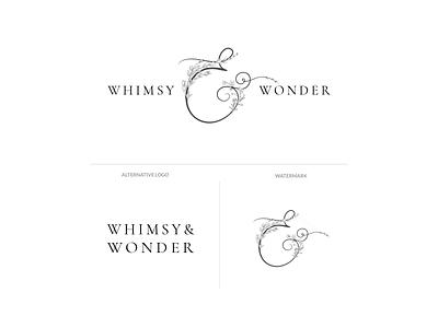 Whimsy & Wonder Branding ui ux web design typography branding logo design