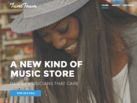 Music Shop Re-Design