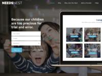Needs Nest Landing Page