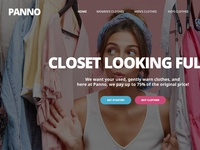 Clothing Landing Page