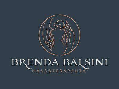 Logotipo: Brenda Balsini logo identidade de marca identidade visual
