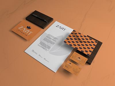 Zayit Studio estudio de design design grafico marca logo identidade de marca identidade visual