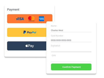 Payment Form dailyui 002