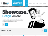 Bizzex – Juicy Free PSD Template