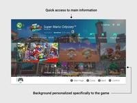 Nintendo Switch - eShop Game mario ux ui shop resolve problem nintendo switch interface game case study