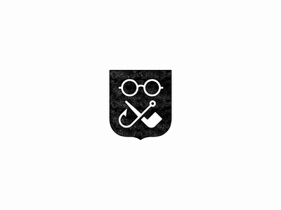 dseong.com glasses badge fishing hook pipe shield logo