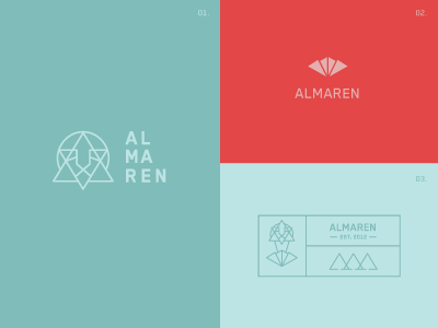 Almaren logo options