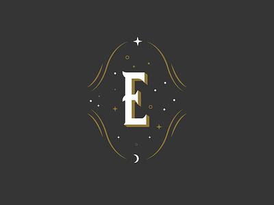 Holiday Party Logomark magic levitation stars type extraordinary holiday logomark