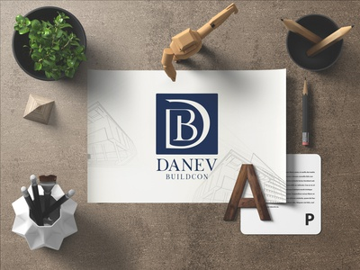Danev Buildcon | Builders Logo Design