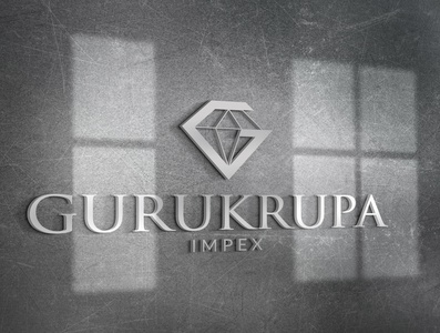 Gurukrupa | Diamond Manufacturer Logo Design