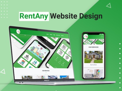 RentAny Apps Wordpress Website website builder businesswebsite wordpress development wordpress design responsive website wordpress responsive design website imamhossainbd website design