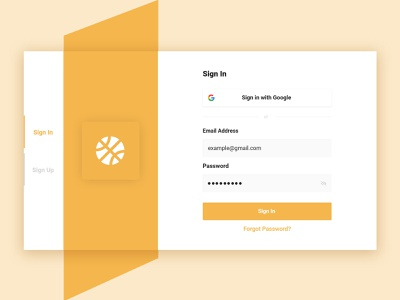 Sign in/sign up page flat logo web graphic design minimal ux vector icon ui design