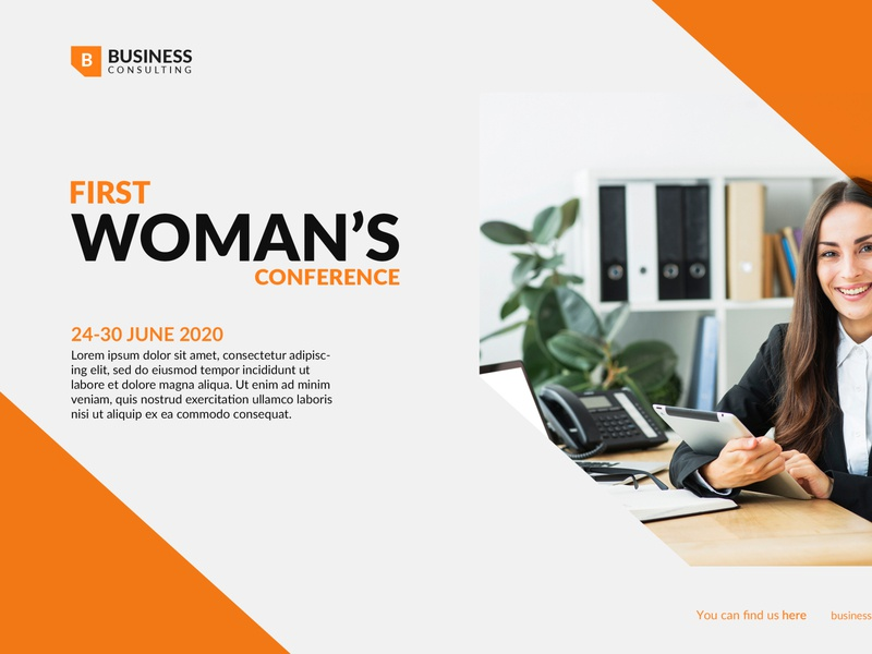Woman Conference bussiness website wordpress elementor website single product sales funnel lead page promotion page one page sales page lnading page