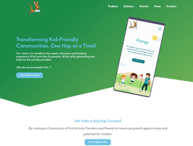 Kangy Template bussiness website wordpress elementor website single product sales funnel lead page promotion page one page sales page lnading page