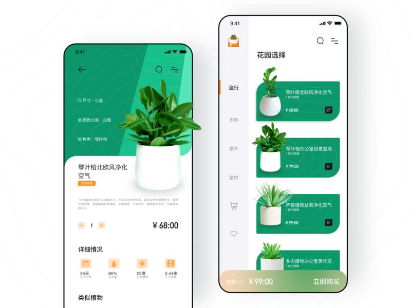 Plant rental concept design