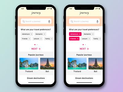 Travel app design ux ios design iphone x design navigation design interaction search tags travel app