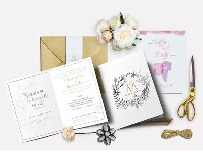 Kristy weds Kalyan-Wedding Invitation-2 print colorful savethedate rustic gold classic invitation stationery invite wedding