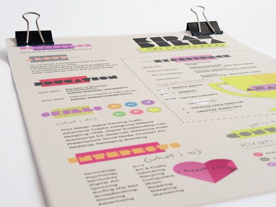 Creative Resume Design Template colorful creative print design cv resume