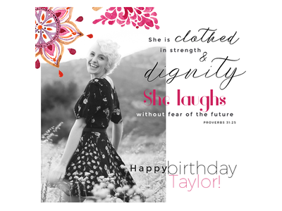 Woman/Mother's day/Christian Birthday Graphic/Template faith she laughs proverbs31 woman lord god christ christian verse bible