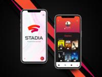 Google Stadia App Design