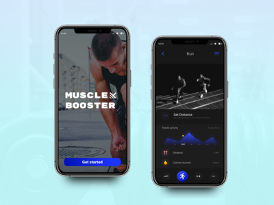 Muscle Boost Concept App