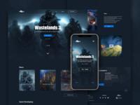 Wastelands 3 Web Site