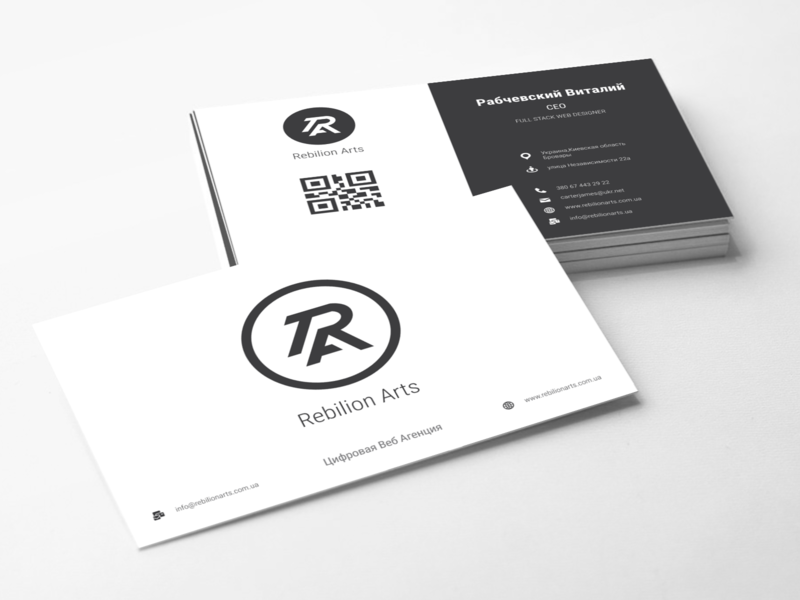 RAA Bussines Cards minimal flat branding icon typography vector logo illustration