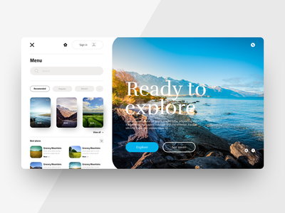 Web Ui Interface Travel App website typography app ui ux web @uiux @webdesign @prototyping figmadesign @uxui @web @prototyping @uxui @webdesign @prototyping design