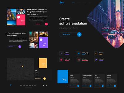 Vitto - Landing Page Webflow Template website flat minimal web @uiux @webdesign @prototyping @uxui @web @prototyping @uxui @webdesign @prototyping design