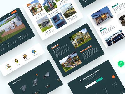 Dribbble IAT AluTec Ukraine Landing Page #1 @uiux @webdesign @prototyping website minimal ux branding web @uxui @web @prototyping @uxui @webdesign @prototyping design
