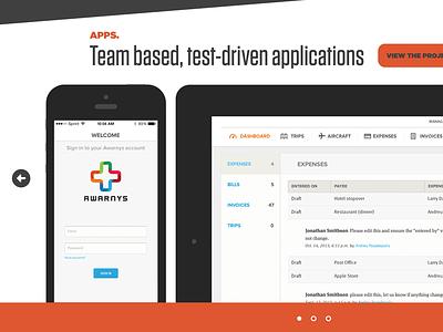 Click or drag slideshow carousel ngen works apps