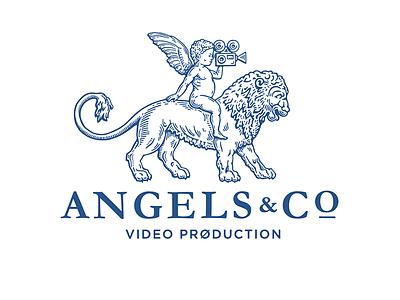 Angels & Co design branding деодамус деос illustration sign logotype deodamus logo deos