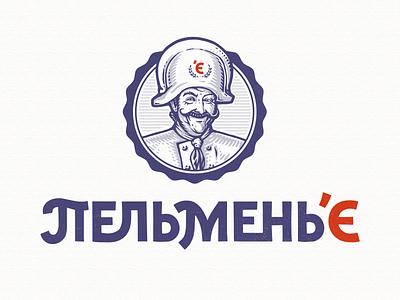пельменье design illustration деос деодамус typography logo logotype lettering deodamus deos