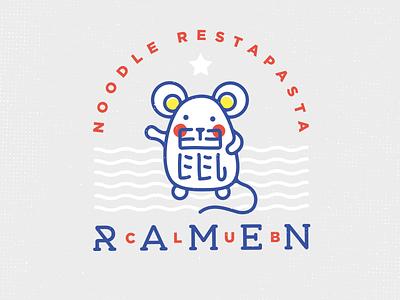 ramen club design forsale noodle china mouse ramen logo4sale деос деодамус logotype deodamus logo deos
