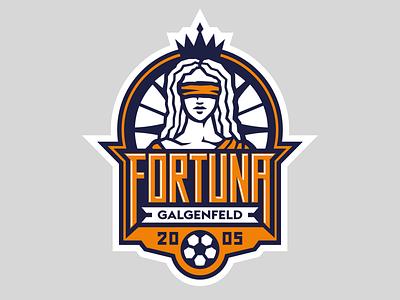 Fortuna Galgenfeld fortuna football club football design деос лого деодамус id sign logotype logo deodamus deos