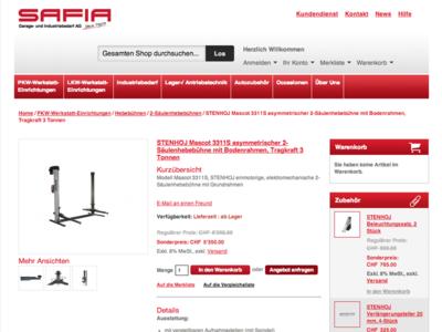 Safia shop design konzept pl