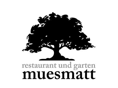 Logo Muesmatt corporate design