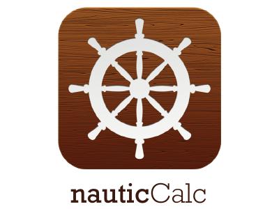 NauticCalc App Icon app ios android design concept