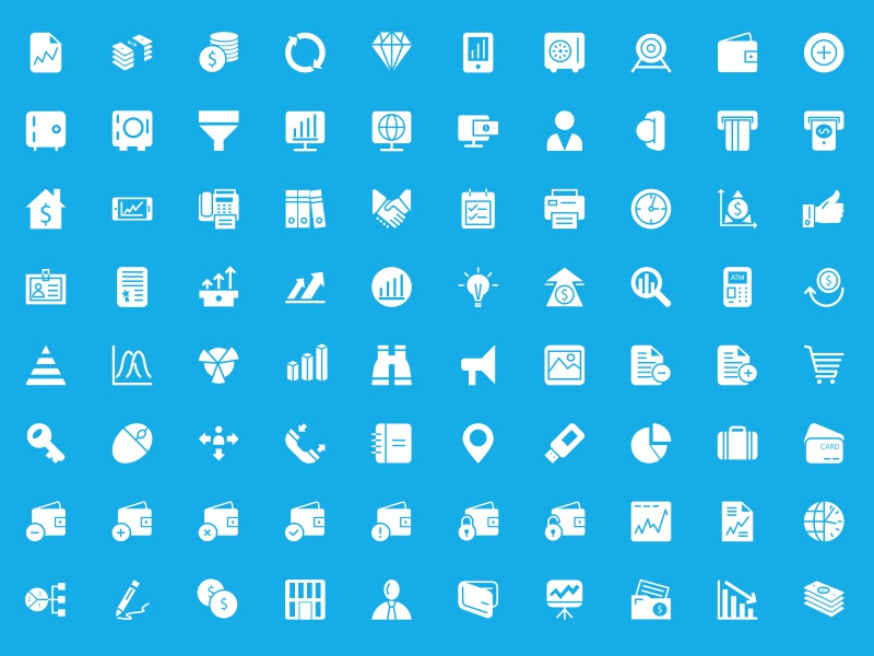 250+ Finance Vector Icons finance vectors icons solid glyphs illustrations banking money wallet payment bank icon set