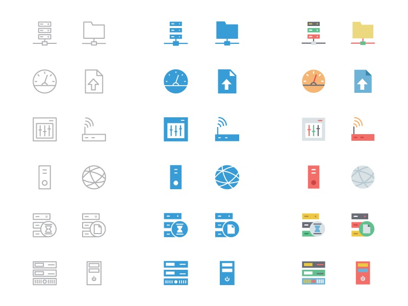 125+ Database and Server Icons database icons server icons hosting icons outline icons line icons filled icons colored icons database and servers data company logo ideas data server flat icons database and server icons