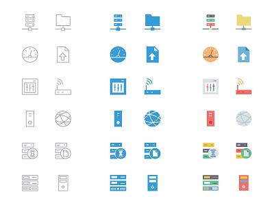 125+ Database and Server Icons database icons server icons hosting icons outline icons line icons filled icons colored icons database and servers data company logo ideas data server flat icons database and server icons