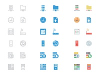 125+ Database and Server Icons