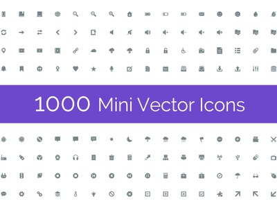 Mini Icons - Glyphs user interface icons universal icons web icons icon set vector icons set of icons solid icons glyphs mini icons icon icons small icons