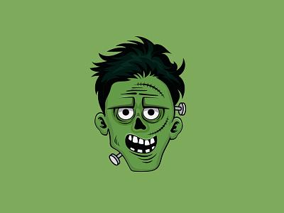Boy Avatar angry boy halloween illustration design face avatar boy