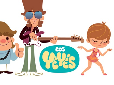 Yeyes 03 illustration comic sixties mondotrendy cartoon