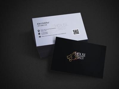 Experimental Business card